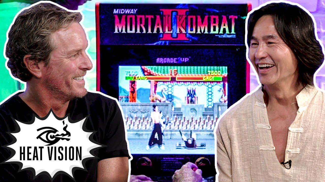 面白動画:オリジナル映画版のリュウカンとジョニー・ケージがアーケード版初代モータルコンバットで対戦!
