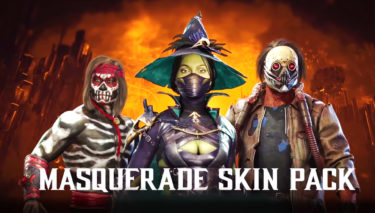 【MK11】Masquerade Skin Packの配信が開始!ハロウィンにぴったりなスキンをゲットしよう♪