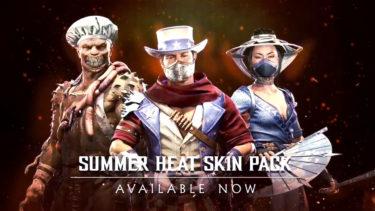【MK11】Aftermath限定スキンパック『Summer Heat Skin Pack』が配信開始!ピーター・ウェラー演じるロボコップのアナウンサーボイスも追加されたぞ!