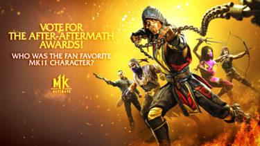 【MK11】人気投票イベント「After-Aftermath Awards」が開始!投票に参加して好きなキャラを応援しよう!